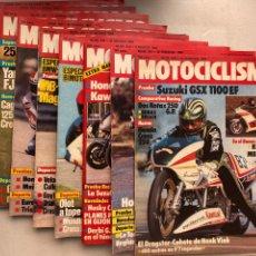 Coches y Motocicletas: LOTE REVISTAS MOTOCICLISMO Nº 840-841-842-843-844-845-846-847-849. Lote 295016383