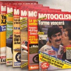 Coches y Motocicletas: LOTE REVISTAS MOTOCICLISMO Nº 850-851-852-853-854-855-856-858. Lote 295017088