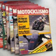 Coches y Motocicletas: LOTE REVISTAS MOTOCICLISMO Nº 860-861-863-871-872-874-888. Lote 295018483