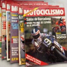 Coches y Motocicletas: LOTE REVISTAS MOTOCICLISMO Nº 901-912-914-916-917-925. Lote 295018853