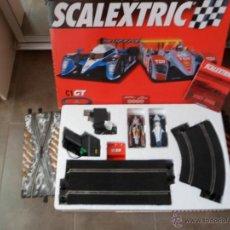 Scalextric: SCALEXTRIC C1 GT AÑO 2007 COMPLETO MAS DOS RECTAS DE CAMBIO +16 TRAMOS MÁS DE PISTAS VER FOTOS. Lote 50171352