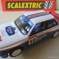 Scalextric: BMW M3 1º RALLY TOUR DE CORSE 1987 BEGUIN, SCALEXTRIC TECNITOYS ALTAYA AÑO 2003, NUEVO A ESTRENAR. Lote 56503547