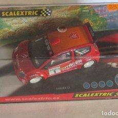 Scalextric: COCHE SCALEXTRIC TECNITOYS, CITROEN C2 JWRC, REF 6166, EN CAJA. CC. Lote 61784924