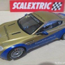 Scalextric: ASTON MARTIN VANTAGE N24 RACING, ORIGINAL SCALEXTRIC TECNITOYS AÑO 2008, NUNCA JUGADO, NUEVO. Lote 70226737