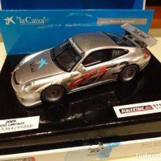 Scalextric: SCALEXTRIC. PORSCHE 911 GT3 CUP ED.LTA. LA CAIXA. REF.6444. Lote 104306579