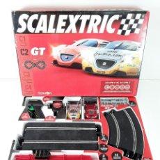 Scalextric: CIRCUITO SCALEXTRIC GT C2. TECNITOYS. ESC 1/32. REF 8074. ESPAÑA. AÑO 2006. CAJA COMPLETA.. Lote 87207124