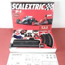 Scalextric: SCALEXTRIC C1 F-1. REF 8079. TECNITOYS. ESPAÑA. AÑO 2005. (CAJA INCOMPLETA). Lote 87235168