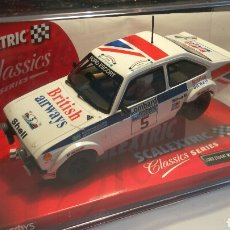 Scalextric: FORD ESCORT MKII BRITISH AIRWAYS SCALEXTRIC TECNITOYS REF. 6369. Lote 104322699