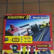 Scalextric: CIRCUITO WORLD SERIES DE SCALEXTRIC. Lote 95879235