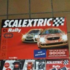 Scalextric: CIRCUITO C1 RALLY DE SCALEXTRIC. Lote 95879319