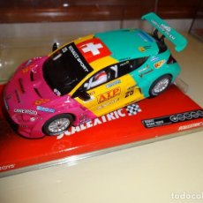 Scalextric: SCALEXTRIC. RENAULT MEGANE TROPHY. COMINI. REF. A10035S300. Lote 95944971