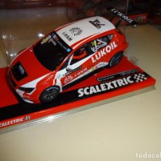 Scalextric: SCALEXTRIC. SEAT LEON TCR. ORIOLA. REF. A10223S300. Lote 95945099