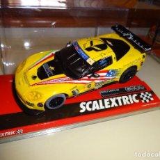 Scalextric: SCALEXTRIC. CHEVROLET CORVETTE C6R. TUTUMLU. REF. A10199S300. Lote 95945207