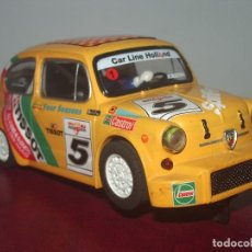 Scalextric: SEAT 600 / FIAT ABARTH 1000 RALLYE, SCALEXTRIC. Lote 98227719