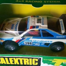 Scalextric: PEUGEOT 405 PIONEER – SCALEXTRIC – REF 6420 – GUIA BASCULANTE, 4X4. Lote 98218511