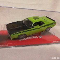 Scalextric: PLYMOUTH AAR CUDA LIME ESPECIAL SHANGAI TECNITOYS 6438CN (2010). Lote 100329087