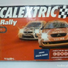 Scalextric: CIRCUITO - SCALEXTRIC C1 RALLY - TECNITOYS. Lote 100334567