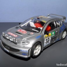 Scalextric: PEUGEOT 206 SCALEXTRIC TECNITOYS. Lote 100733987