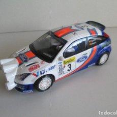 Scalextric: FORD FOCUS WRC CARLOS SAINZ RALLY MONTE-CARLO, EDICIÓN LIMITADA 3000 UNIDADES SCALEXTRIC, NUEVO. Lote 101189563