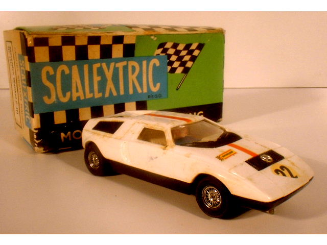 ANTIGUO COCHE SCALEXTRIC MERCEDES WANKEL C-111 (Juguetes - Slot Cars - Scalextric Exin)