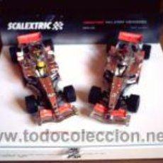 Scalextric: LOS 2 MCLAREN MERCEDES DE ALONSO Y HAMILTON DEL 2007 DE SCALEXTRIC. Lote 53805169