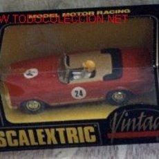 Scalextric: REBAJADO !! EXIN MERCEDES VINTAGE SCALEXTRIC SCX. Lote 26707354