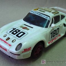 Scalextric: PORSCHE 959 SCALEXTRIC BLANCO . Lote 14179069
