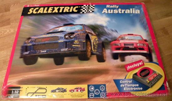 CIRCUITO SCALEXTRIC COMPLETO RALLY AUSTRALIA (Juguetes - Slot Cars - Scalextric Exin)