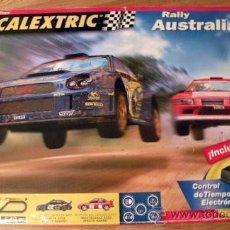 Scalextric: CIRCUITO SCALEXTRIC COMPLETO RALLY AUSTRALIA . Lote 25482215