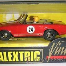 Scalextric: MERCEDES 250 SL SPORT. VINTAGE. SCALEXTRIC EXIN. A ESTRENAR EN SU CAJA ORIGINAL. Lote 182790770