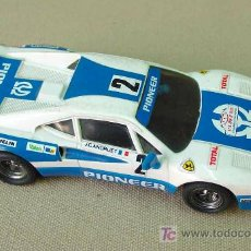 Scalextric: SLOT CAR SCALEXTRIC, FERRARI GTO, RALLY, PIONEER, REF: 4075. Lote 14232199
