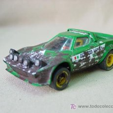 Scalextric: SLOT CAR SCALEXTRIC, LANCIA STRATOS, RALLY, MARLBORO, REF: 4055/4065. Lote 14232206
