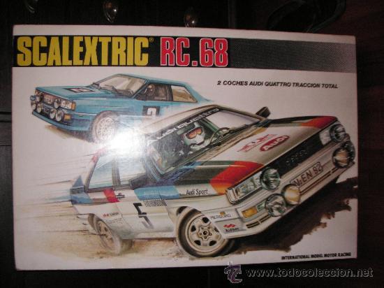 Circuito Rc : Circuito rc.68 el de los audi 4 en perfecto est sold through
