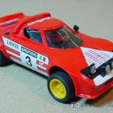 Scalextric: SLOT CAR SCALEXTRIC, LANCIA STRATOS, MARLBORO, REF: 4055/4065, MADE IN SPAIN. Lote 15694329