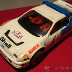 Scalextric: SCALEXTRIC EXIN FORD RS 200 SHELL. Lote 26225127