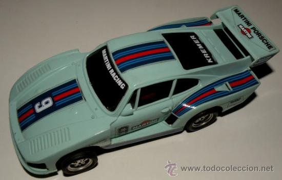 ANTIGUO PORSCHE 935 DE SCALEXTRIC - REF 4067/71 - FUNCIONA PERFECTAMENTE - ESTA D (Juguetes - Slot Cars - Scalextric Exin)