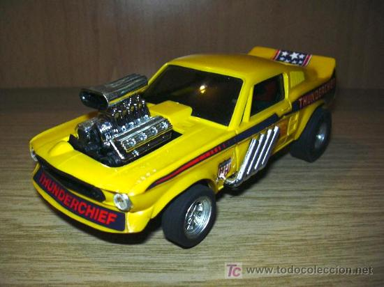 SCALEXTRIC - EXIN - FORD MUSTANG (Juguetes - Slot Cars - Scalextric Exin)