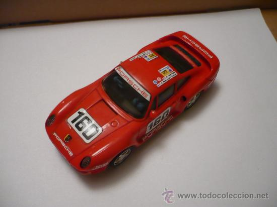 SCALEXTRIC PORSCHE 959 ROJO (Juguetes - Slot Cars - Scalextric Exin)