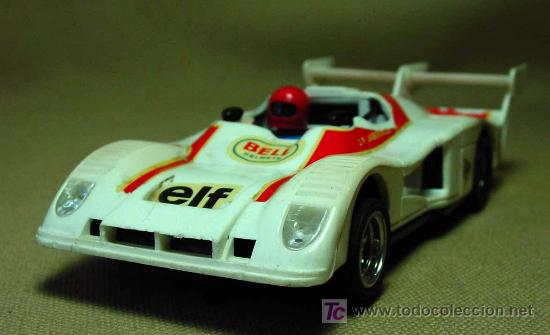 SLOT CAR SCALEXTRIC, RENAULT ALPINE 2000 TURBO, REF: 4053 (Juguetes - Slot Cars - Scalextric Exin)