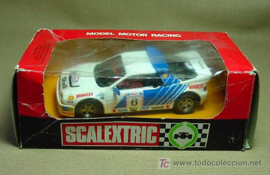 SLOT CAR SCALEXTRIC, FORD RS 200, MARLBORO, CON CAJA, REF: 4080 (Juguetes - Slot Cars - Scalextric Exin)