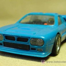 Scalextric: SLOT CAR SCALEXTRIC, LANCIA RALLY 037, REF: 4073/4074, MADE IN SPAIN. Lote 19532761
