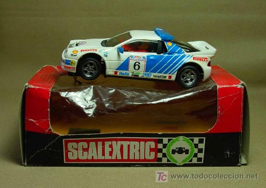 Scalextric: SLOT CAR SCALEXTRIC, FORD RS 200, MARLBORO, CON CAJA, REF: 4080 - Foto 7 - 19528784
