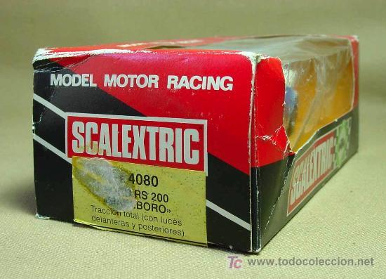 Scalextric: SLOT CAR SCALEXTRIC, FORD RS 200, MARLBORO, CON CAJA, REF: 4080 - Foto 2 - 19528784