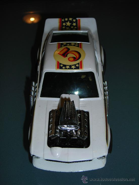 Scalextric: (M) FORD MUSTANG DRAGSTER BLANCO, SCALEXTRIC REF 4049, CON CAJA , - Foto 6 - 27370489