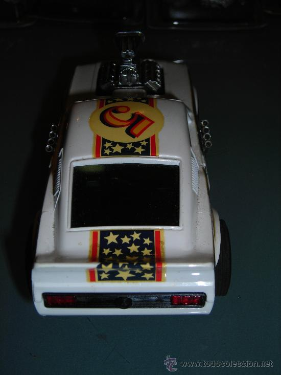 Scalextric: (M) FORD MUSTANG DRAGSTER BLANCO, SCALEXTRIC REF 4049, CON CAJA , - Foto 7 - 27370489