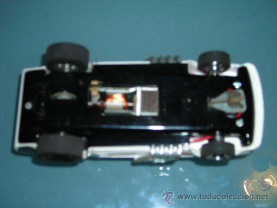 Scalextric: (M) FORD MUSTANG DRAGSTER BLANCO, SCALEXTRIC REF 4049, CON CAJA , - Foto 8 - 27370489