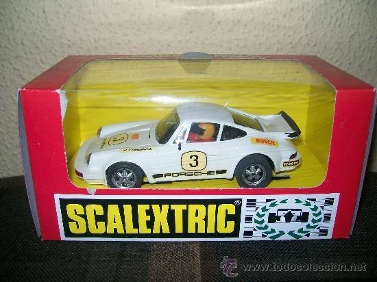 SCALEXTRIC EXIN. PORSCHE 911 RS CARRERA. NUEVO A ESTRENAR!! CAJA ORIGINAL. (Juguetes - Slot Cars - Scalextric Exin)