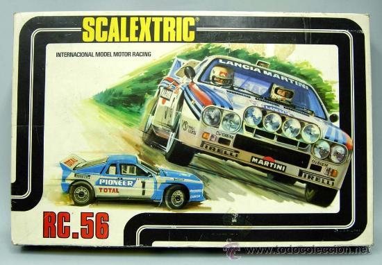 Circuito scalextric rc 56 completa con coches l - Vendido