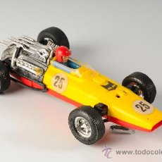 Scalextric: COCHE SCALEXTRIC HONDA REF. C-36, COLOR AMARILLO LIMÓN, MADE IN SPAIN. Lote 26975770
