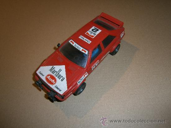 AUDI QUATTRO 100% ORIGINAL SCALEXTRIC EXIN 1980S SCALEXTRIC EXIN (Juguetes - Slot Cars - Scalextric Exin)
